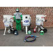 Sableuse industrie à surpression 17 - 50 - 100 - 150 - 200 280 litres
