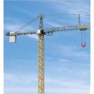1000 ec-h 40 litronic high-top - grue à tour - liebherr - hauteur max. sous crochet 88,40 m - capacité de levage max. 40 000 kg