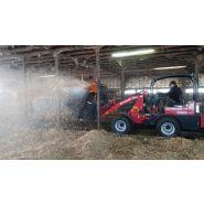 Minipailleuse simple 135 pailleuse agricole - juraccessoire - pour valet de ferme de 2000 kg / 40 cv ou plus