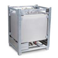 137266W - Cuves de transport - Denios - en inox de 1000 litres TA carrée