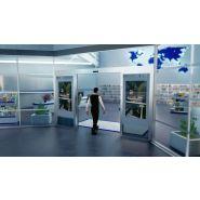 On air la porte automatique intelligente qui voit, reconnait et communique