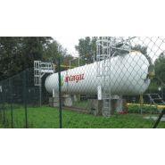 LPG Tanks - Citerne à gaz réservoir fixe aérien - ALCANE - diamètre 1250 mm