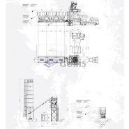 GSP 35 Centrale à béton - Guris - Fixe - 35 m3/h