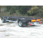 Châssis de remorque - fournier - nombre d'essieux : 2 à 4
