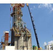 Grue auxiliaire Big 2255 - Effer - Portée verticale 35 m