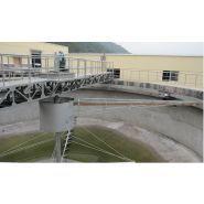 Racleurs de bassins de décantation - Wuxi Houpu - Puissance de conduite de 0,37kw à 0,75kw