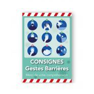 Contemp1-ad - affiche covid 19 - pictosigns - double face