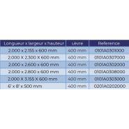 Niveleur de quai hydraulique - alapont - capacité de charge statique 9 000 kg