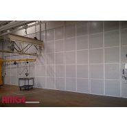 Cloison isolante pour l'industrie - métrologie-salles propres