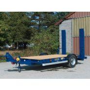 RPP6D1 - Remorque plateau pour poids lourd - Fournier - Ptc 6t