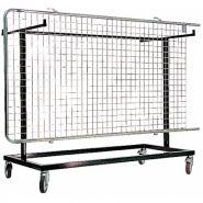 Gre.ch24 - chariot pour grille d'exposition - equipcite - pour 24 griles expo
