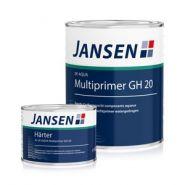 Multiprimer aqueux à 2 composants GH 20 - Jansen - Rendement/consommation env : 120 à 170 g/m² par couche