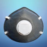 Respirateur de filtre de charbon actif - masque ffp1 - suzhou sanical protection product manufacturing co. ltd - taille m:132 * 115 * 47 mm et l:140 * 125 * 52 mm