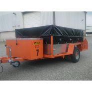 X700 - Bâche, filet et capot pour remorque - SARL MONFORTE - Poids 630 g/m²
