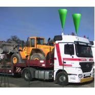 Mesureur de hauteur anticollision pour camions pour ponts et tunnels