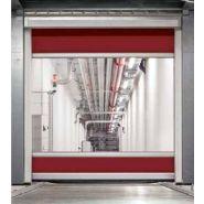 Porte rapide 3009 Conveyor / souple / en plastique / utilisation intérieure / 3500 x 3500 mm
