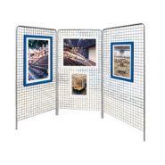 GREDI - Grille d'exposition - Concepto - Mailles de 50x50mm
