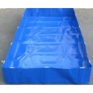 BAC DE RÉTENTION OCCASIONNEL PLIABLE EN PVC - 1000 LITRES