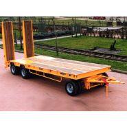 RA3TG2 - Remorque plateau pour poids lourd - Fournier - Ptc 24t