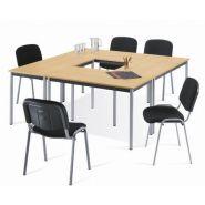 TABLE RECTANGULAIRE POLYVALENTE L. 120 X P. 60 CM 6298013R2SA TABLES DE RÉUNION POLYVALENTES