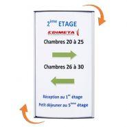 PLAQUE SIGNALÉTIQUE ALUSIGN® 20 X 29,7 CM - RÉF.2192030