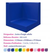 ASSISE D'ANGLE ADULTE