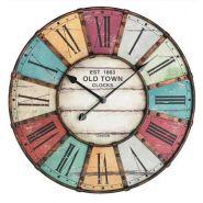 """Horloge """"vintage"""" ø 600mm #6021t"""