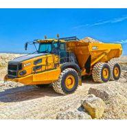 B35e tombereaux articulés - bell - 33 500 kg