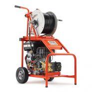 Kj-3100 - hydrocureur - ridgid - pression de travail réelle de 3 000 psi (205 bar) et débit de 21 l/min