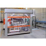 Porte rapide V5030MSL / souple / à enroulement / en plastique / utilisation intérieure / 4000 x 4000 mm