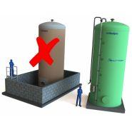 Cuves de stockage pour engrais liquide double paroi securinov - Maitre-simonneau - Capacité : 26 à 52 m3
