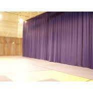 EI4010 - Rideau en tissu polyester pour séparation - Nouansport - 320g/m2