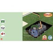 CUVE DE RETENTION PLATINE - Cuves et citernes pour eau de pluie - Fransbonhomme - Modèle: 39098 Y à 39121 Y