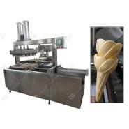 Machine de cornet de crème glacée de cuisson automatique - Henan Gelgoog - Capacité élevée 5000-6000 PCS/H