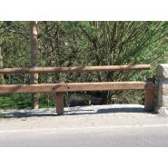 Tr18 4m – n2 w7 – asi a - glissière de sécurité - tertu - bois-métal, longueur 4 m