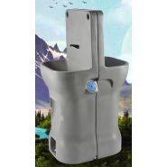Lavabo autonome lave-mains sur pied 2 postes - en location - sebach