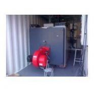 Chaufferie mobile gaz c-1500-g - livrée en container