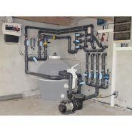 Médias de filtration d'eau - Europiscine - 10-15 μ contre 40-50 μ