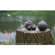 Wb nb2 - cible de tir à l'arc - natur'foam - diam 8 cm (100gr)