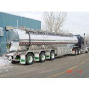Remorques citerne liquide - Bedard Tankers Inc - Tridem