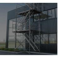 Échafaudages de façade Fortec Acier Universel - Fortal SA - Polyvalent
