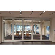 Cloison mobile vitrée acoustique movista - de 45 à 47 rwdb