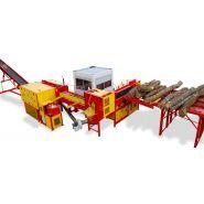 Combiné à bois de chauffage Xylog 800 - Rabaus SAS - Diamètre de coupe max 800 mm - Longueur de coupe 25 à 50 cm