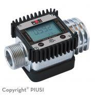 K24 atex/iecex - débitmètre électronique carburant - piusi spa - liquide : essence, gasoil, kérosène - pression d'éclatement : 100 bars