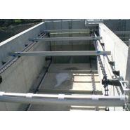 Racleurs de bassins de décantation - Etse - Chaines spécifique de racleur pour décanteur couloir