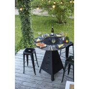 Table braséro barbecue