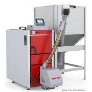 Delta ekopell - chaudières à granulés - defro - puissances disponibles 10 à 25 kw