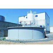 W-tank plaque valladolid - Réservoir de stockage industriel - Toro equipment - Le poids de la plaque varie selon le diamètre et la hauteur : poids maximum 250 kg/plaque