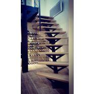 Escalier droit - intÉrieur