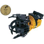 Grappin coupeur forestier RK 260 - Uiforest - Ouverture 1000 mm - Diamètre de coupe 260 mm